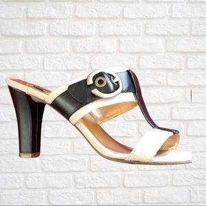 JONES NEW YORK slide sandal w/heel